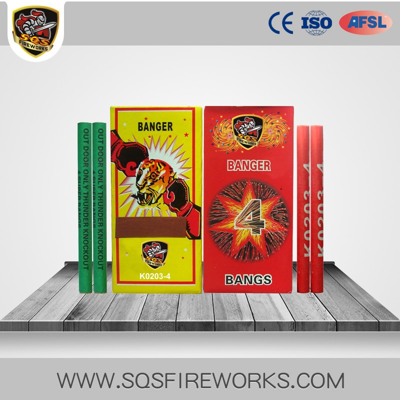 Chinese firecrackers best selling toy banger fireworks