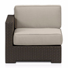 Patio Garden Rattan Meditation Chair / Rattan Corner Sofa
