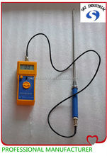 digital hand held humidity meter with probe
