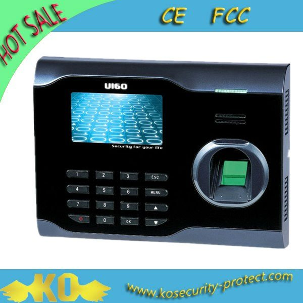 Professional USB Port Web Server Fingerprint Biometric Timer Management KO-U160