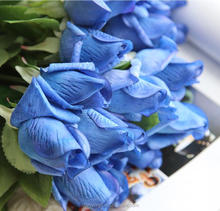 rose buds flower royal blue artificial flowers rose
