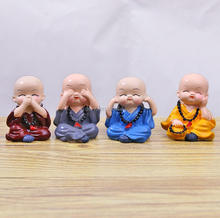 Chinese Supplier Resin Clay Buddhist Monk
