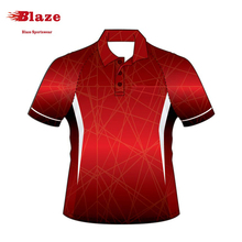 Latest design promotional customized sublimation blank polo shirts