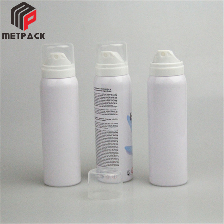 Free Spree Showy Packaging bulk aluminum tin aerosol cans for sale
