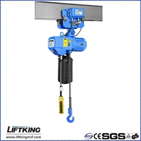 2ton overhead crane hoist with trolley
