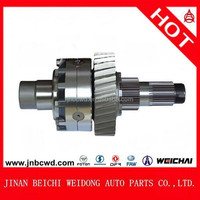 Beiben truck Transmission parts differential Intermediate Axle (Mid-Axle) differential assy
