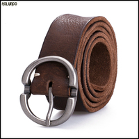 Guangzhou factory custom top quality leather belt/ belt leather/ belt