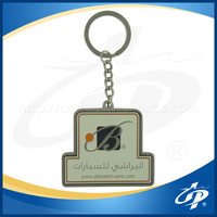 2016 popular letter and numble shape or special shape metal keychain with custom logo design