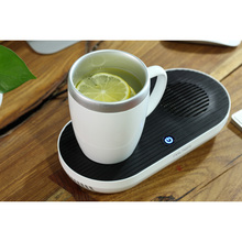 Electric Desktop Heat Coffee Cup Warmer, mug warmer and mug cooler