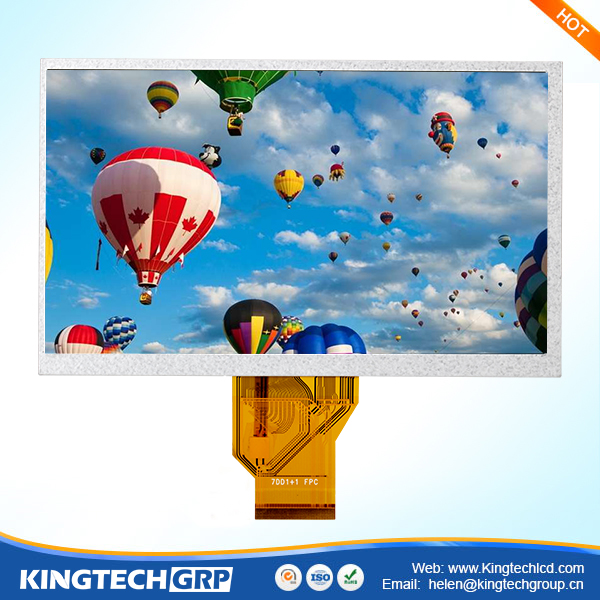 '' tft resistive panel 7 inch landscape type 800*480 7'' lcd touch screen with tcon