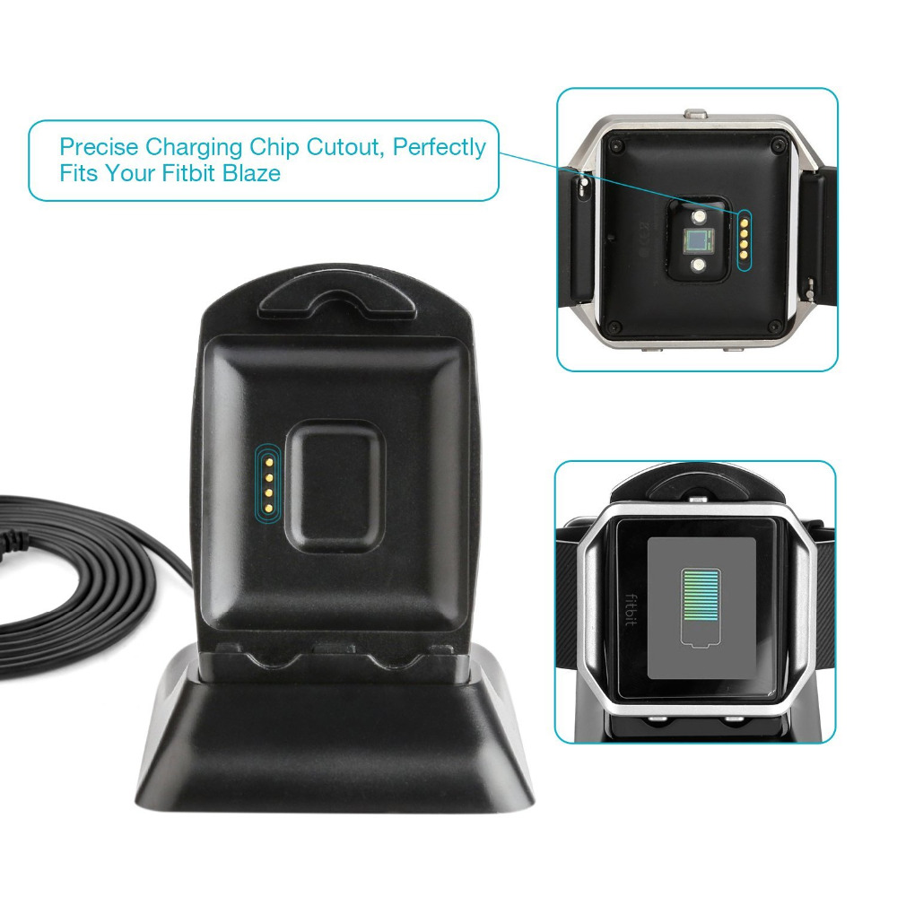 Fitbit Blaze Charger Charging Stand Accessories for Fitbit Blaze <strong>Watch</strong>