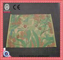 Colorful fashion any size bamboo table runners and place mats