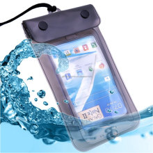 Universal colourful pvc waterproof cell phone case for mobile