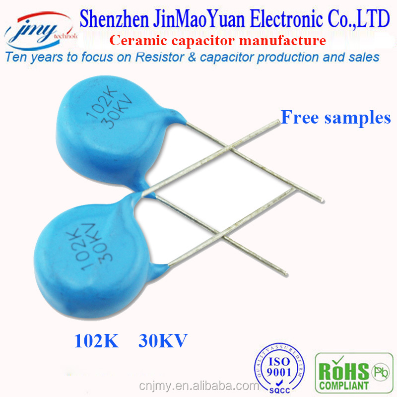 2016 CT81 102K Ceramic Disc Capacitor for 1000PF 30KV