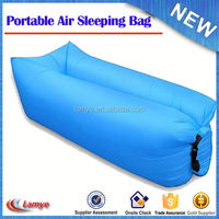 Air bed lay bag inflatable bed sofa/ Fast inflatable air cushion sofa