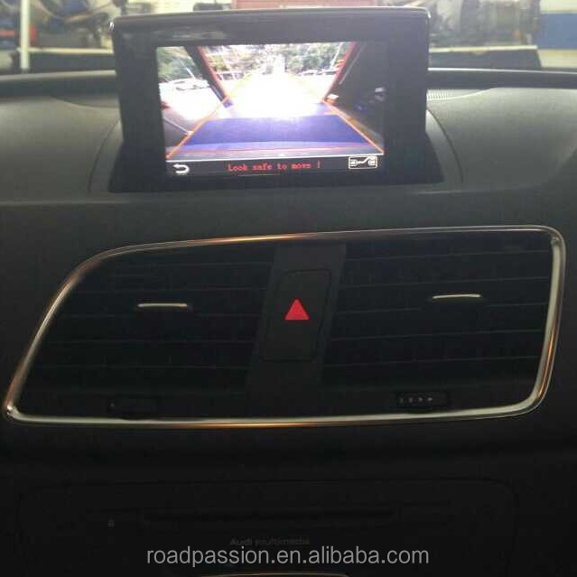 Car iPas Back-up Camera Input kits with Moving Guidelines for Audi 3G+ MMI