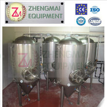 micro brewery with cooling and heating -all stainless steel with optional brass cooking pot