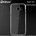 China factory flexible TPU case for samsung galaxy s7 ,high quality Durable Slim mobile cover case for samsung S7 edge