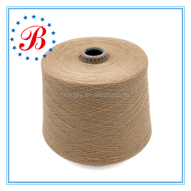 Wholesale China Supplier Dyed Yarn Nm 48/2 Wool 60% Silk 30% Cashmere 10% Blended Knitting and Weaving Yarn
