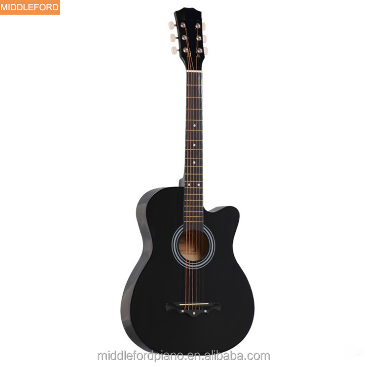 China factory wholesale musical instruments cheap colorful acoustic guitar