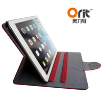 New arrival tablet case for ipad5 universal tablet flip leather case child proof tablet case
