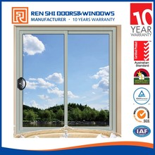 AS/NZ2047 Australian standard aluminum profile double glass aluminium sliding windows and door