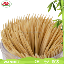 High quality disposable bamboo toothpicks in opp bag