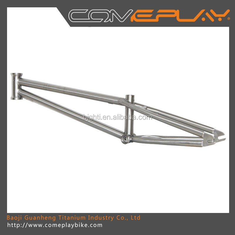 Titanium BMX bicycle frames with life time warranty Titanium bicycle frames