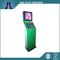 Freestanding Dual Monitor Touch Screen Self-service Terminal Kiosk and Ticket Vending Machine Kiosk (HJL-D3510)
