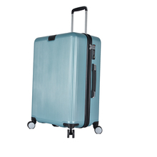 Durable Carry-On Pull Rod ABS Hardside Swivel Wheels Luggage
