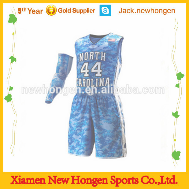 Europe club men's basketball jersey/basketball uniform/basketball wear