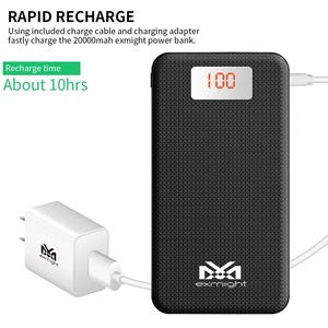 Fast charging New design hot sale for 20000mah slim power bank hottest products on the market
