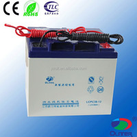 VRLA battery long life solar power storage battery gel battery 12v 38ah