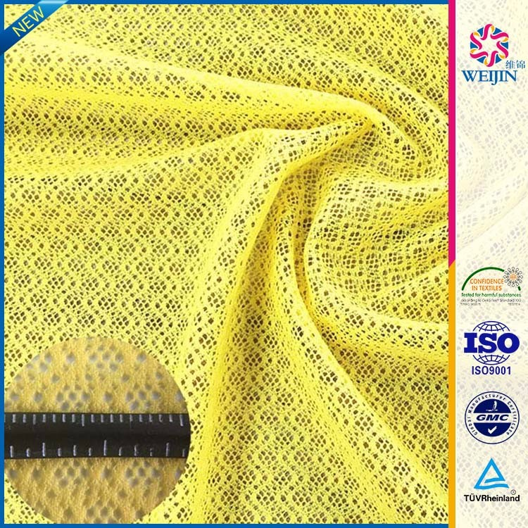 High-quality Yellow Spandex Sequence Fabrics