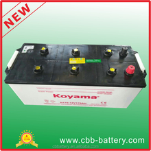 hybrid electric dry charge car battery replacement 12V170Ah battery for honda civic/insight , toyota and prius