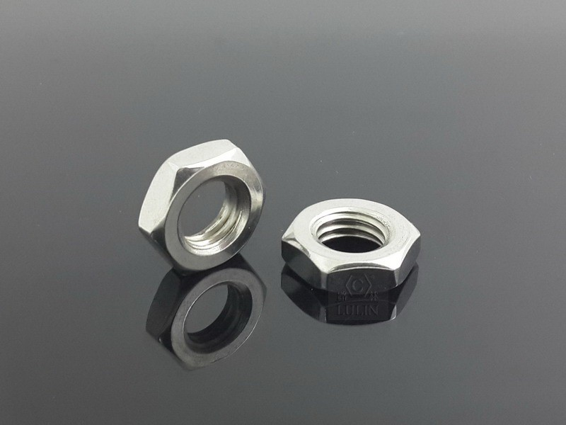 Stainless Steel Thin Hex Nut / Light Hex Nut