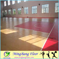 PVC Material sports flooring for basketball court