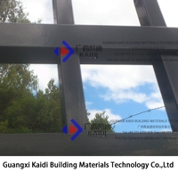 Galvanised Welding Pre Made Solid Metal Fence Panel