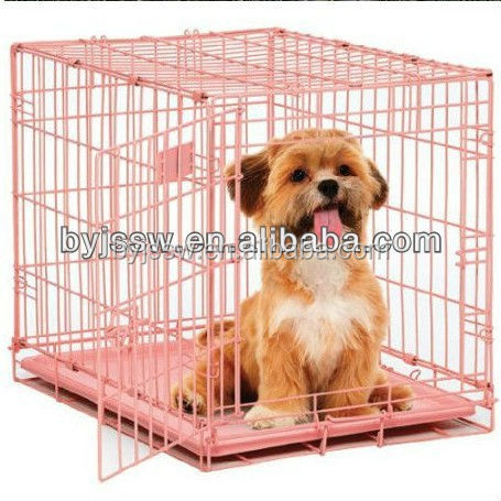 Cheap Foldable Commercial Dog Cage from Direct Factory