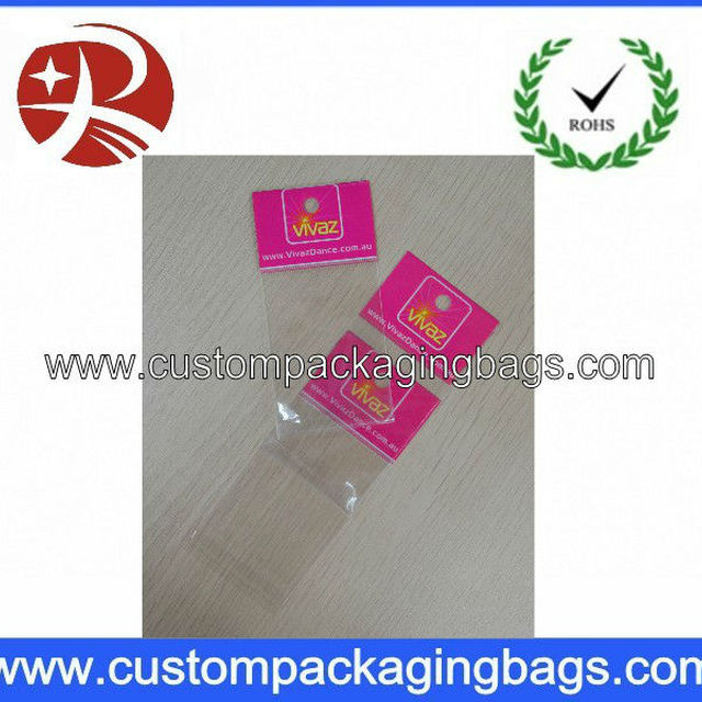 Crystal opp plastic bag with printing