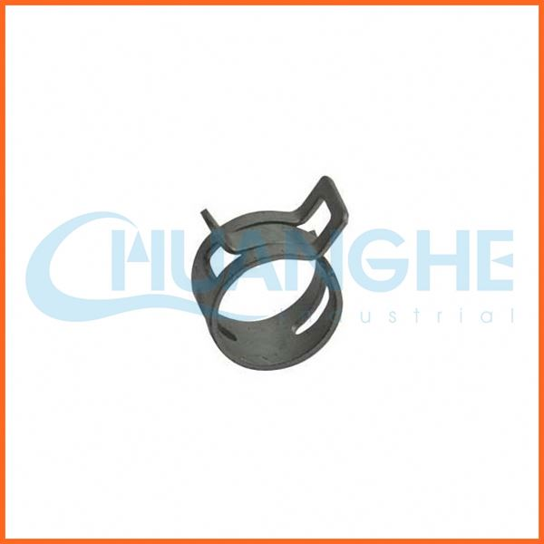 China manufacturer low price spring steel hose clamp