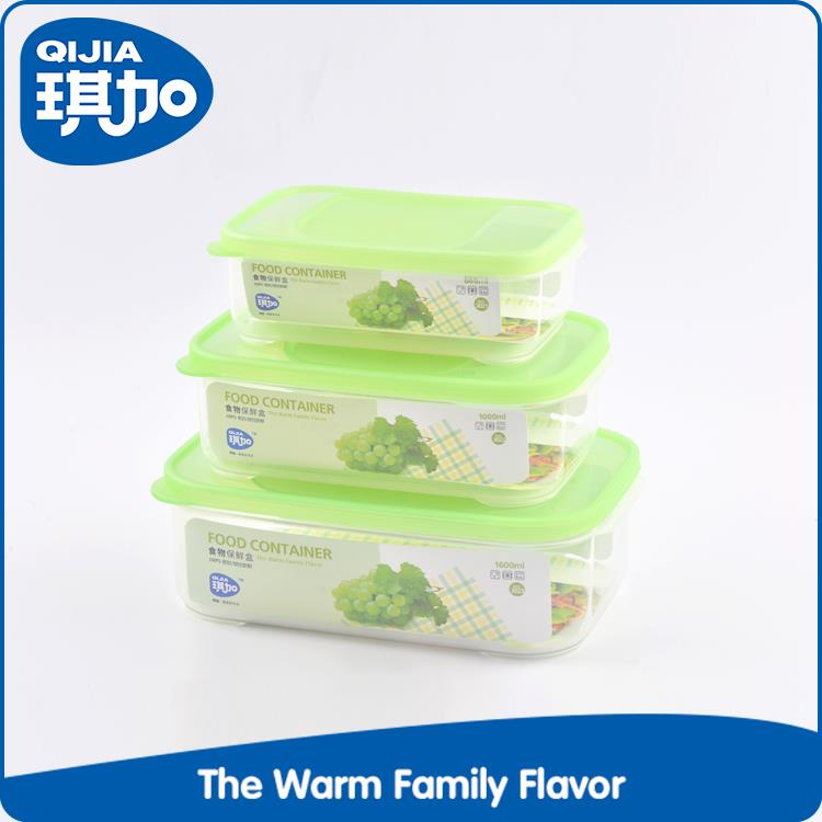 New products heat resistant plastic disposable food container microwave safe
