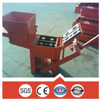 CE,ISO certificates manual fly ash brick making machine