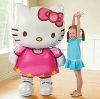 Wholesale Helium Inflatable Human Size Hello Kitty Foil Balloon