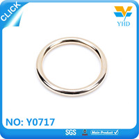 custom travel bag metal o ring accessories