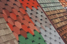 Standard 3-tab/ U-shaped/ Laminated/hexagonal Mosaic/ square Single Layer Bitumen Asphalt Roof Shingle