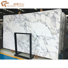 White Marble with Black Veins White Arabescato Marble Price
