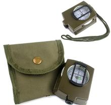 Multi-function Outdoor Compass with Scale Ruler, High Quality Military Compass DC60-2A