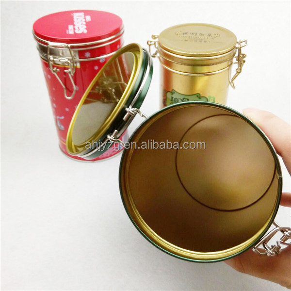 custom design metal tea packaging tin cans