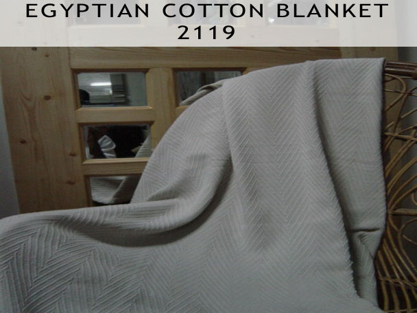 Egyptian Cotton Blanket 2119